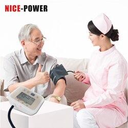 100% Health Arm Automatic Blood Pressure Monitor BP Sphygmomanometer Pressure Meter Tonometer for Measuring Arterial Pressure