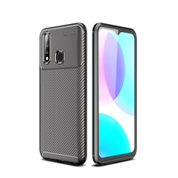 style protective For Vivo Y19 Case Business Style Silicone Rubber Shell Coque TPU Back Phone Cover For Vivo Y19 Protective Case For Vivo Y19 (2)