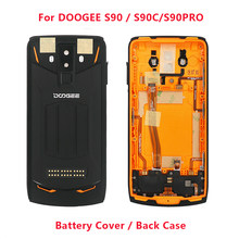 New Original Doogee S90 battery case Protective Battery Case Back Cover+Camera Glass+Speaker+fingerprint For Doogee S90 Phone(China)