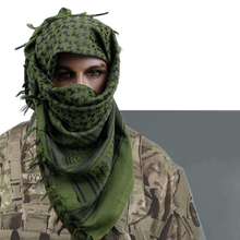 Hunting Army Military Tactical Keffiyeh Shemagh Desert Arab Scarf Shawl Neck Cover Head Wrap Hiking Airsoft Shooting Accessories aa shield camo tactical scarf outdoor military neckerchief forest hunting army kaffiyeh scarf light weight shemagh woodland