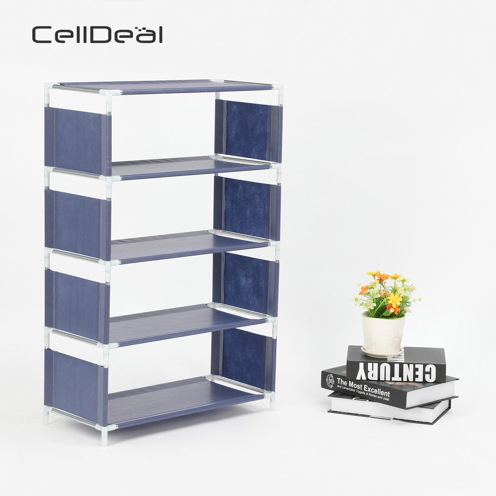 Shoe Rack Assemble Shoes Shelf Multi Functional Simple Hallway Cabinet Organizer Holder Storage Solid Stand Shelves Shoe Living