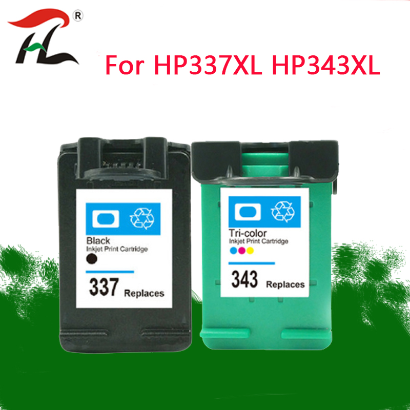 337 343 Ink Cartridge Replacement For Hp337 HP343 For HP Photosmart 2575 8050 C4180 D5160 Deskjet 6940 D4160 C4150 Printer