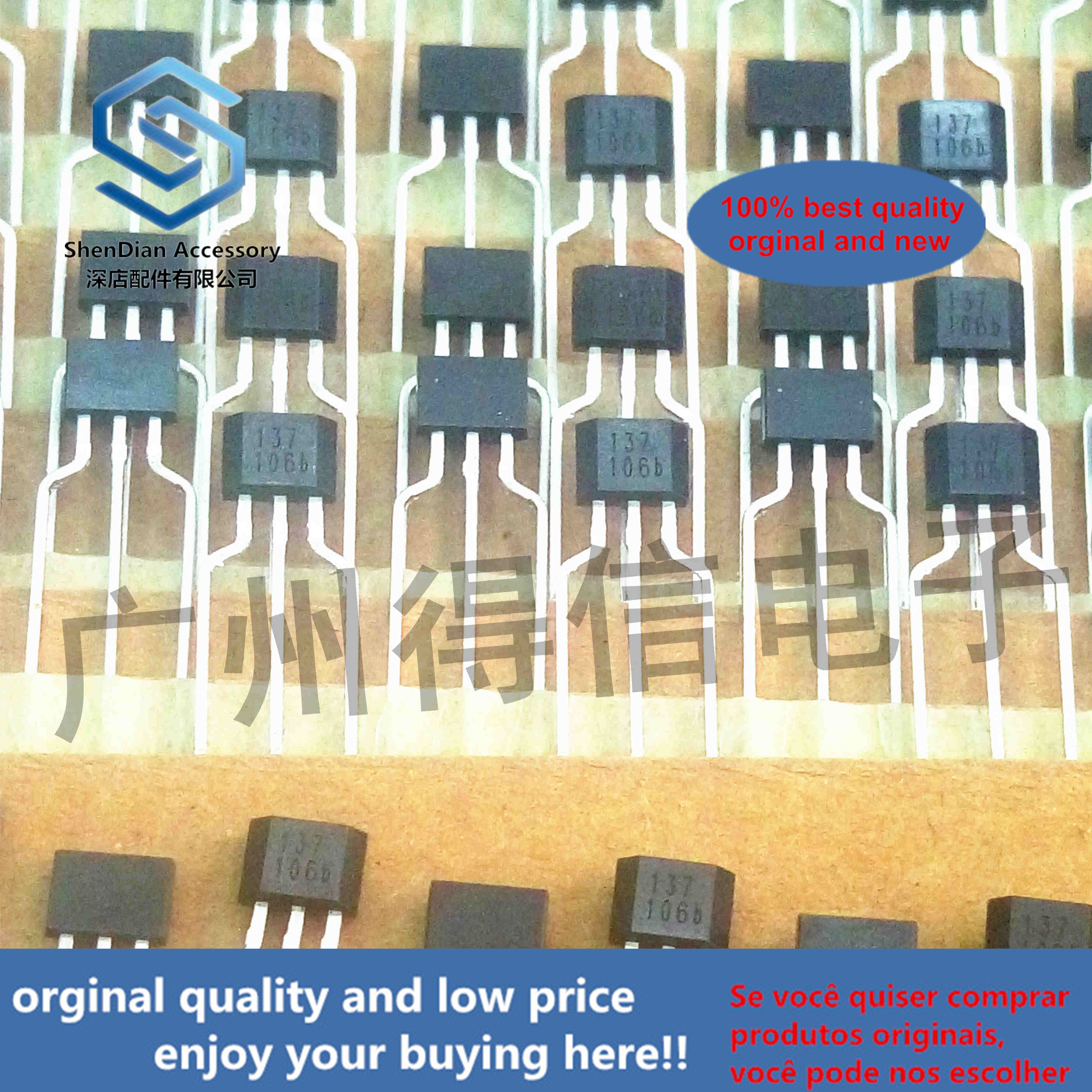 10pcs 100% Orginal New ATS137 137 SINGLE HALL EFFECT SWITCH Real Photo