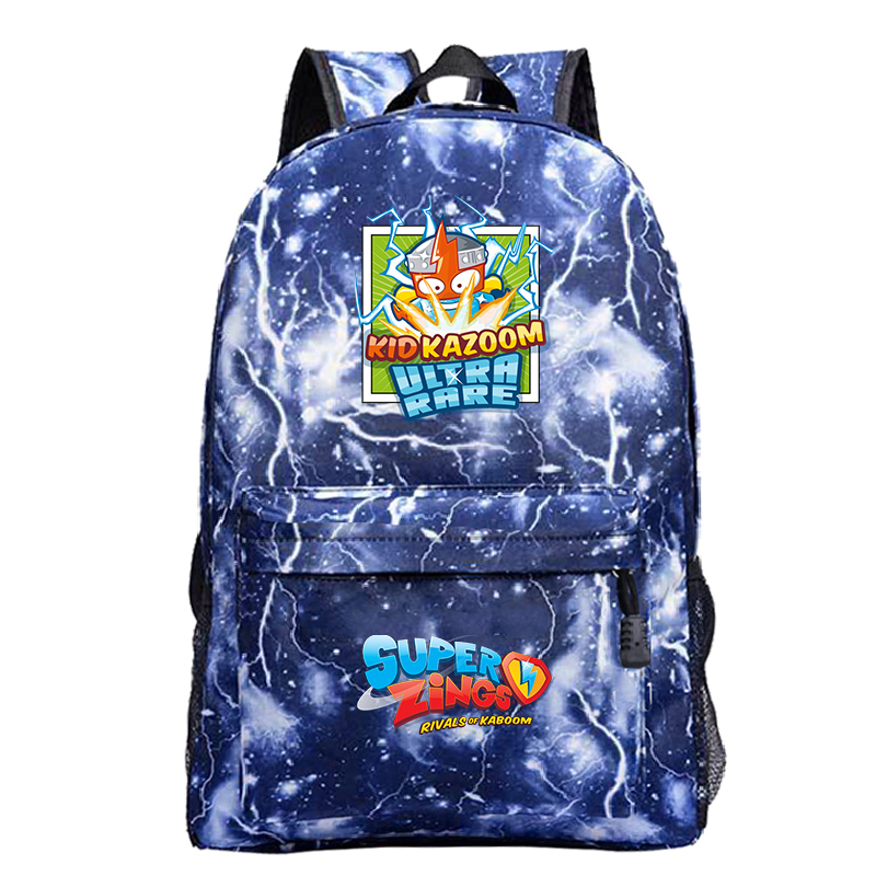 Mochila Kawaii Backpack Super Zings School Bags For Teenage Girls Cartoon Zaino Plecak Galaxy Women Back Pack Mini Backpack Kids