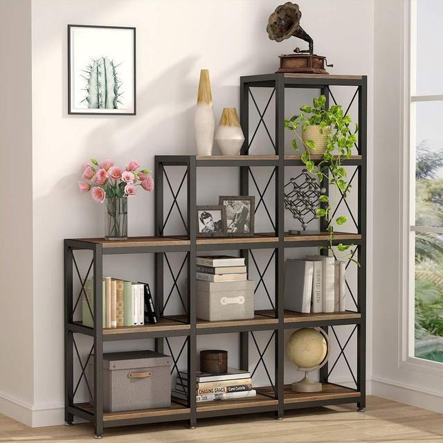 Industrial Ladder Bookshelf 1