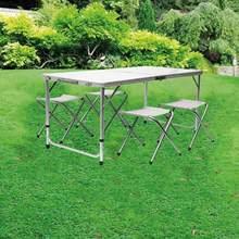 Table de Camping en plein air Portable pliable mobilier de bureau Table d'ordinateur en Aluminium randonnée escalade pique-nique Tables pliantes chaises HWC