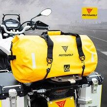 40L 66L 90L Motorcycle Tail Package handbag Long-distance Backpack 6 Level Waterproof Large Capacity Bag