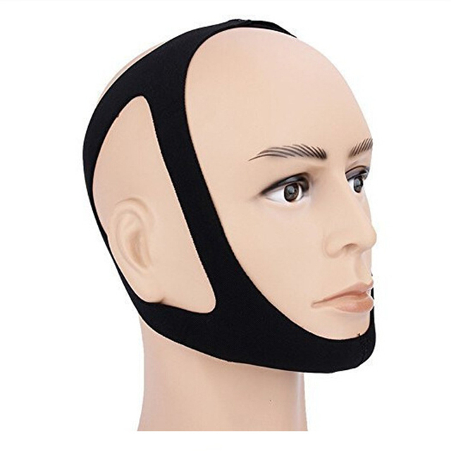 Anti Snore Chin Strap Stop Snoring Snore Belt Sleep Apnea Chin Support Straps for Woman Man Night Sleeping Snore Stopper Bandage 6