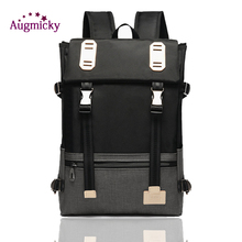 Brand 14 inch Nylon Laptop Backpack Women Mochila for Teenagers school backpacks Casual Bags Travel bag Male Business Rucksack laptop backpack black women notebook women laptop bag school bags for teenagers travel business office worker z192