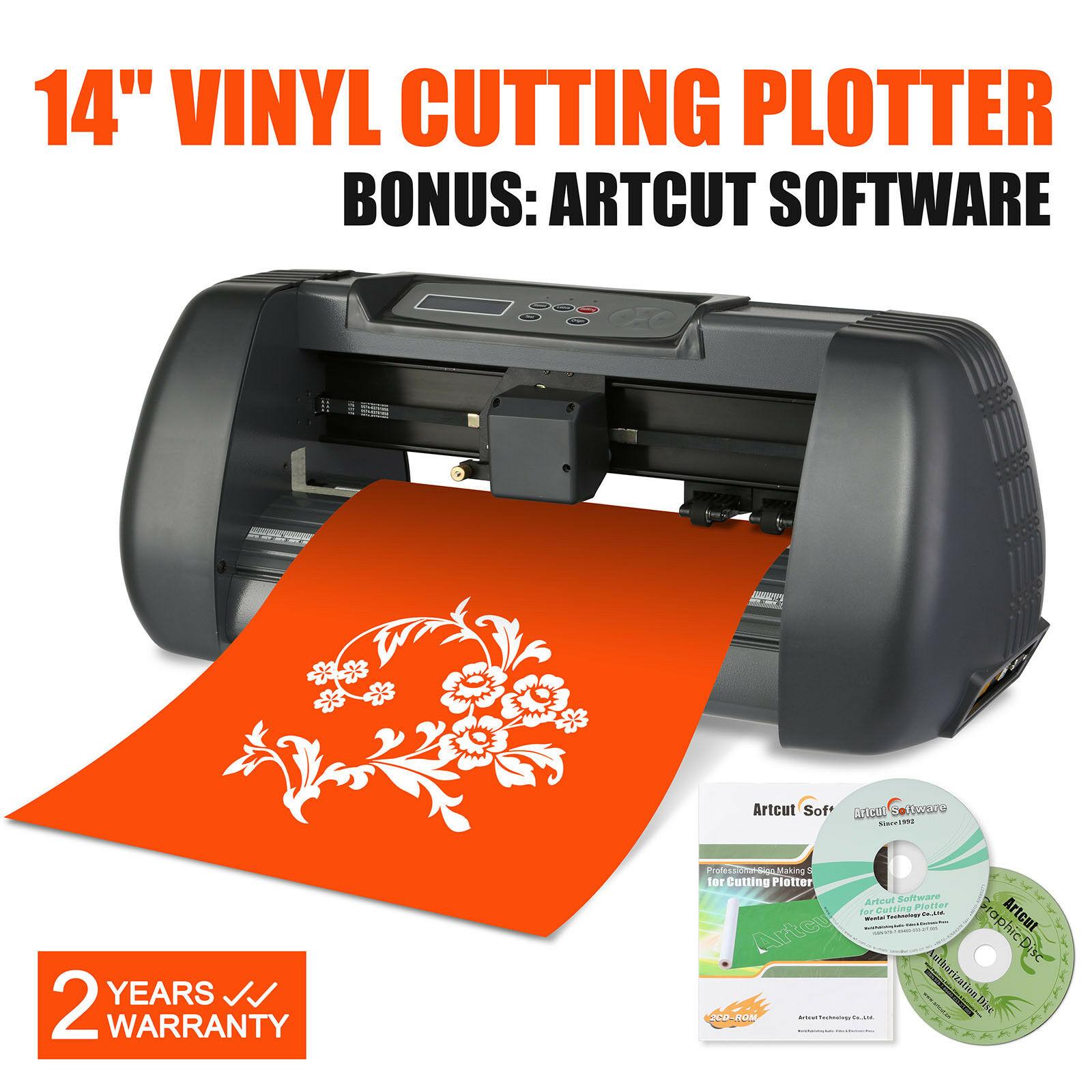 Vinyl Cutting Plotter 14