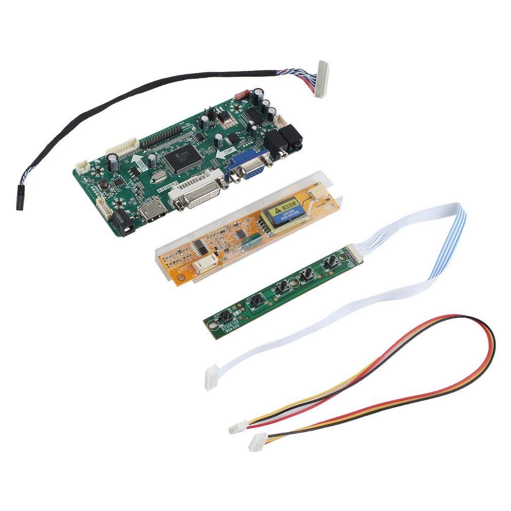 HDMI+DVI+VGA LCD Controller Board for 1920*1080 Laptop Screen DIY Monitor@USA