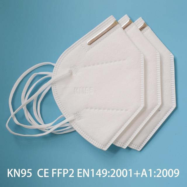10-200 ffp2 Face mask KN95 Mouth Mask Safety Antibacterial Maske 95% Filtration mask protect dust mask ffp2mask Fast send 1