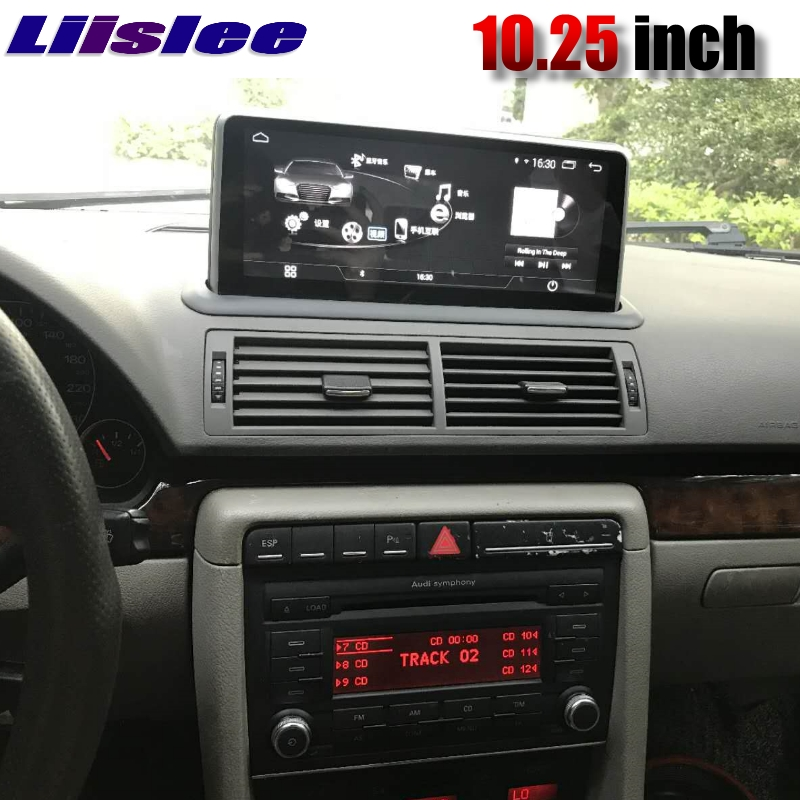 Liislee Car Multimedia Player NAVI For Audi A4 S4 B7 8E 8H 1999~2009 CarPlay Radio Stereo Touch Screen Android GPS Navigation image