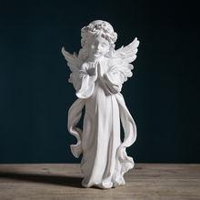 Статуи Ангела для украшения статуэтка из смолы скандинавский