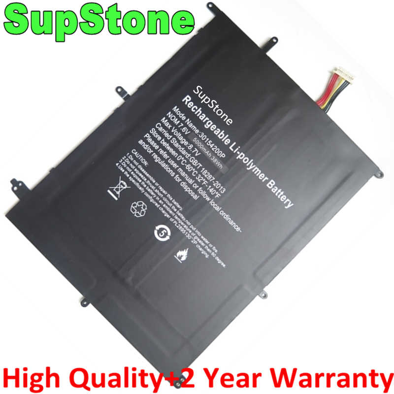 Supstone bateria laptop 30154200p HW-3487265 31152200p genuína, para bben n14w th140a ak14 for teclast f6 pro, f7 plus, TH133C-MC