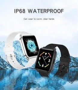 Image 2 - X3C Smart Watches IP68 impermeabile lunga durata della batteria rifiuto chiamata Fitness Tracker donna uomo sport Smartwatch per IOS Android