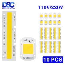 10pcs/lot 110V 220V LED COB Chip Lamp 10W 20W 30W 50W 70W 100W 120W 150W No Need Driver LED Light Bulb for Flood Light Spotlight(China)
