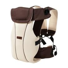 1 30 mesi traspirante ergonomico baby carrier dellinvolucro dellimbracatura dello zaino del bambino del bambino di trasporto del bambino della cinghia del supporto di canguro borsa per il viaggio