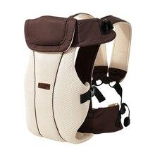 1 30 months breathable ergonomic baby carrier backpack sling wrap toddler carrying baby holder belt kangaroo bag for travel