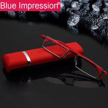 Мужские очки для чтения bi мужские с полуободковой оправой tr90