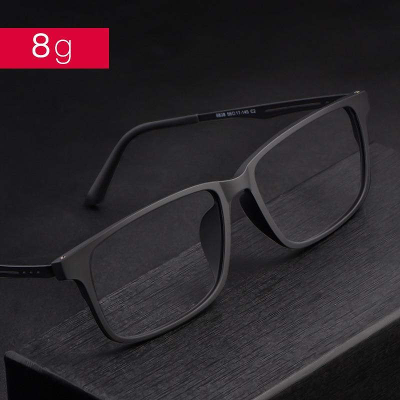 Image 3 - Nowe jakościowe okulary optyczne rama dla mężczyzn i kobiet okulary elastyczne tytanowe nogi świątyni TR 90 ramki przedniej obręczyRamki do okularów   -