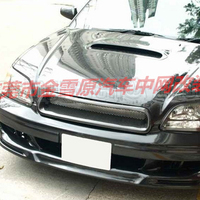 Use for Subaru Legacy Racing Grills 2000 2004 Year real carbon fibre front center racing grille cover accessorie body kit