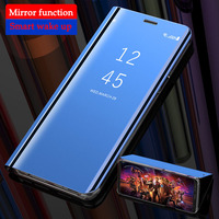 galaxy note Smart Mirror Phone Case For Samsung Galaxy Note 10 A50 A10 A20 A30 A40 A70 A80 A90 A20e M20 M10 M30 S10 S8 S9 Plus S7 Edge Cover (2)