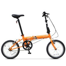 Bicicleta dobrável dahon yuki aço carbono alto kt610 única velocidade 16 Polegada urbano ciclismo commuter meninos e meninas adulto bicicleta
