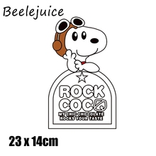 cartoon dog Iron on Patches Cute Small Animal Transfer for Clothes Stickers Letter Badges Washable DIY T-shirt Print decorations zotoone iron on cute alien patches for clothing t shirt cool badges embroidered diy cool patch sew stripe on clothes applique g