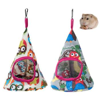 Collapsible Pets Cat Kitten Cone Hammock Hanging Comfortable Warm Bed Cave Cage image