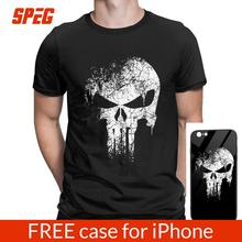 The Punisher Skull Supper Hero T Shirts Men T-Shirt Tops Tee