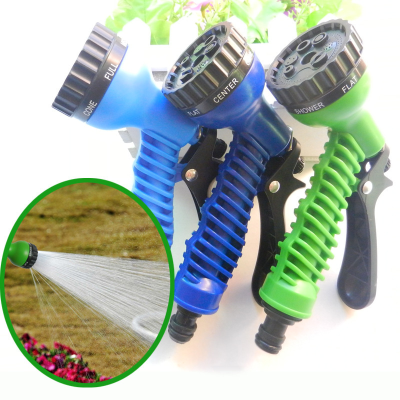 ABS Plastic Cleaning Gun High Pressure Set Seven Feature Garden Water Gun Vehicle Cleaning For Cleaning Tool Manufacturers Direc