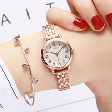 2019 New Fashion Small Dial Women Watches Top Brand Stainless Steel Bracelet Watches Ladies Quartz Dress Watches Luxury Clock luxury fashion gold women quartz watches top brand small dial female bracelet watch stainless steel mesh strap ladies writwatch
