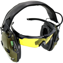 Electronic shooting earmuffs anti-noise sound amplification hearing protection headset tactical hunting sightlines ear pa brand tactical earmuffs anti noise hearing protector noise canceling headphones hunting work study sleep ear protection shooting
