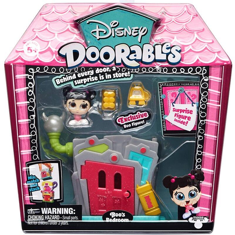 Disney Doorables Frozen Elsa Olal Mickey Minnie Judy Pinocchio Rapunzel Alice Snow White Belle Princess Blind Box Girl Kids Toys 17