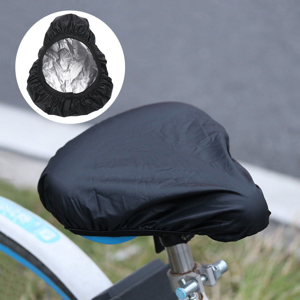 Fits Most of Bike (Black) JRing Bike Seat Rain Cover,2Pack Soft Waterproof Bicycle Seat Cover Elastic Rain and Dust Resistant Bike Saddle Protective Cover