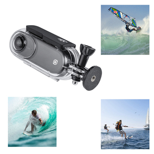 Image 3 - GloryStar 45M Waterproof Underwater Protective Case Diving Housing For Insta 360 One VR Action Sport Camera Accessory