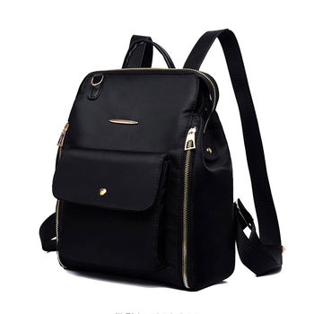 Female Classic Backpack Fashion Design Of Oxford Cloth Soft Bagpack Can Cross The Waterproof Lightweight Casual Bag Solid - discount item  43% OFF Women's Handbags