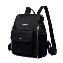 Żeński plecak klasyczny Design z tkaniny Oxford miękki plecak może przekroczyć krzyż wodoodporna lekka torba na co dzień solidna