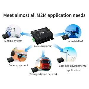 Image 5 - 4G LTE RS232 RS485 Mô Đun Modbus Rtu TCP LTE FDD WCDMA GSM Ebyte E840 DTU(4G 02E) không Dây Trong Suốt Thu Phát Modem