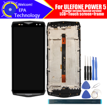 ULEFONE POWER 5 LCD Display+Touch Screen Digitizer+Frame Assembly 100% Original LCD+Touch Digitizer for ULEFONE POWER 5