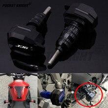 Motor koruma bloğu YAMAHA XJ6 saptırma motosiklet düşen koruma çerçeve slider koruyucu anti crash pad koruyucu