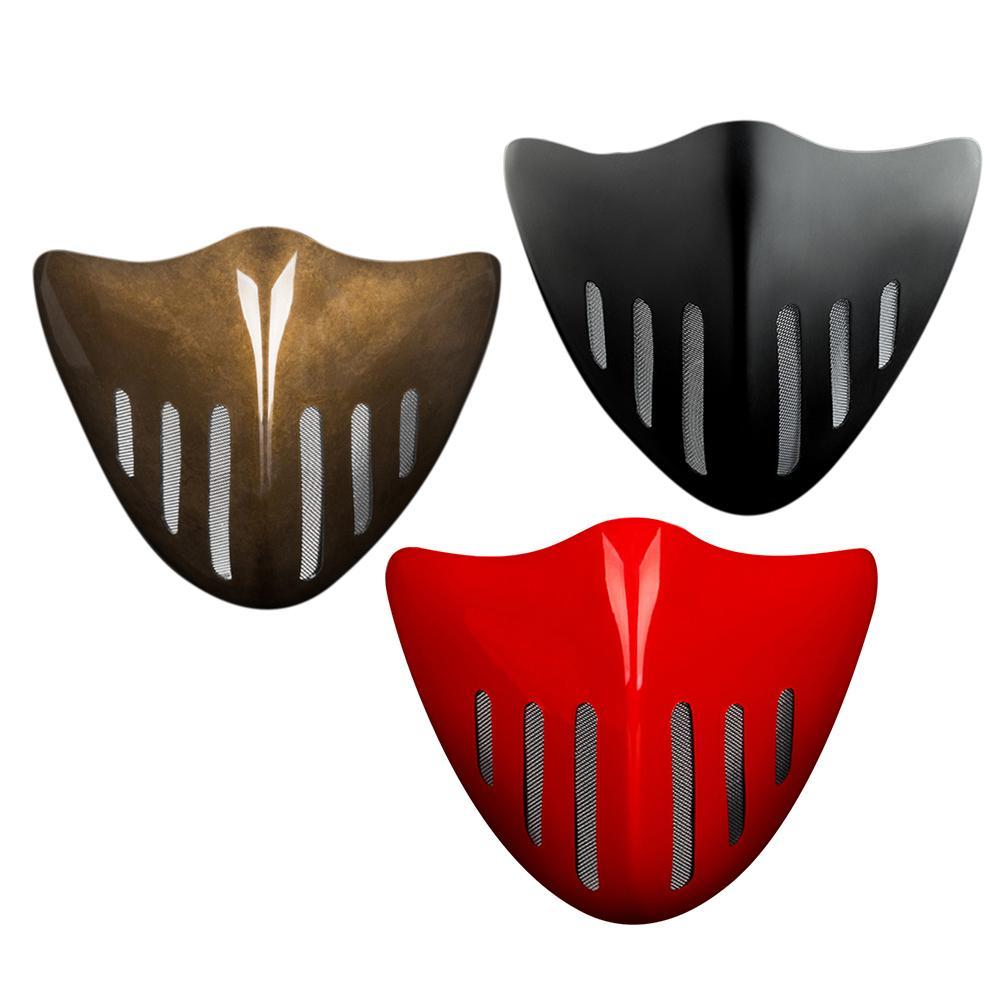 Регулируемая Пылезащитная маска высокого качества PC многоразовая и дыхательная маска для движения бега на велосипеде активного отдыха
