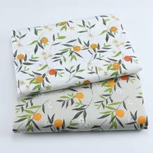 Pano de algodão puro da sarja da tela da impressão do fruto da tela 160cm x 50cm, pode fazer o forro do fundamento do bebê 190 g/m tela lisa
