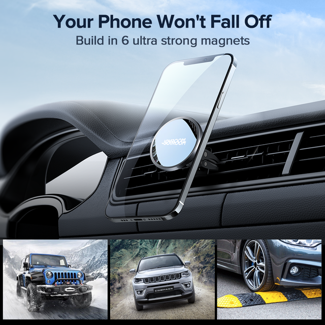 15W Qi Magnetic Wireless Car Charger Phone Holder for iPhone 12 Pro Max Universal Wireless Charging Car Phone Holder for Huawei 4
