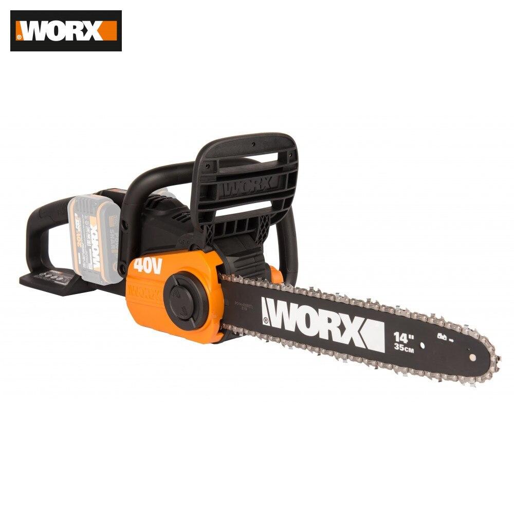 Electric Saw WORX WG384E.9 Power Tools Chain Chains Accumulator Saws