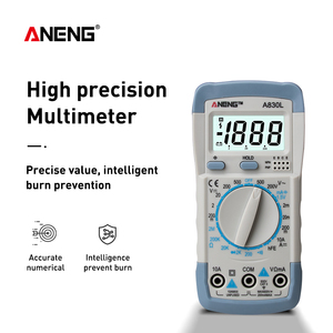 Image 4 - ANENG A830L Profesional Current Tester Luminous Display with Buzzer Function Digital AC/DC Voltage Diode Frequency Multitester