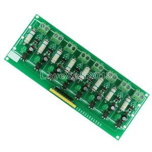 Image 4 - وحدة اختبار معزولة للكشف عن وحدة المعالجة PLC التيار المتناوب 220 فولت 8 قناة MCU TTL مستوى 8 Ch