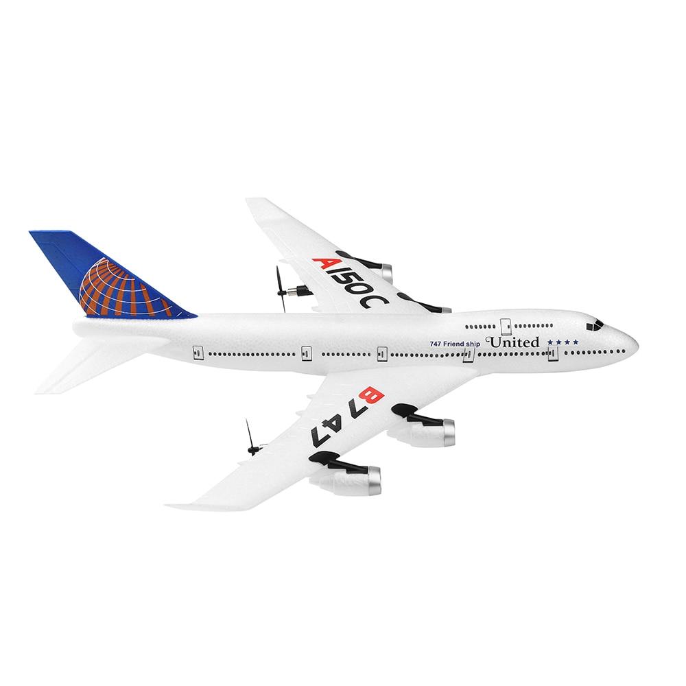 2020 nouveau drone A150-C Boeing B747 modèle RC avion 2 canaux télécommande avion jouets pour enfants enfants garçons 4