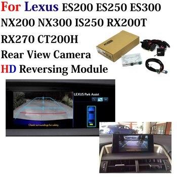 Car Rear Camera Decoder For Lexus ES200/ES250/ES300 NX200/NX300 IS250/RX200T/RX270/CT200H Original Screen Upgrade Parking System